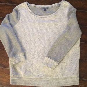American Eagle 3/4 length sweater